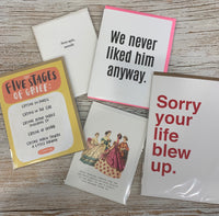 Divorce or breakup Card Collection