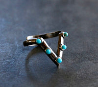 Turquoise Ring, adjustable