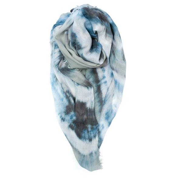 Double Knot Scarf - Stone/Midnight Fig&Bella