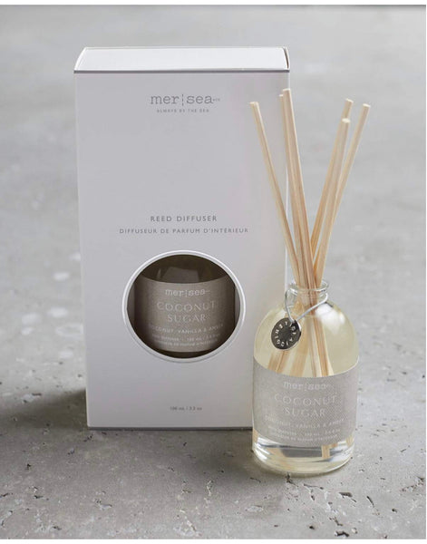 Mer Sea Coconut Sugar Reed Diffuser