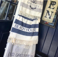Beach House Blanket