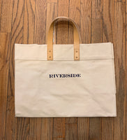 Large Utility Tote- Embroidered
