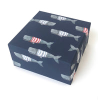 Swimming Frankies Wrapping Paper