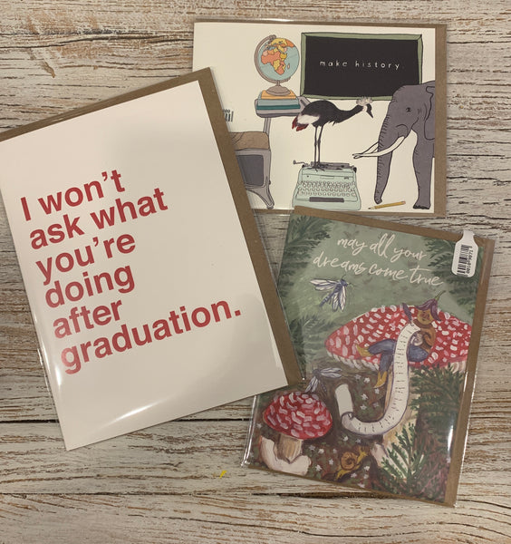 Collection of 3 Graduation Cards #2