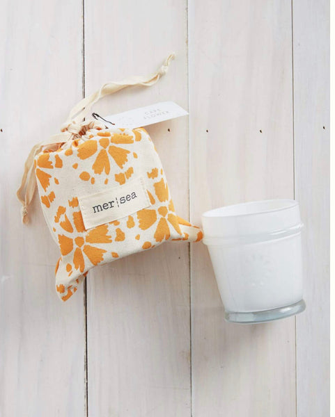 Cape Flower Printed Bag Candle