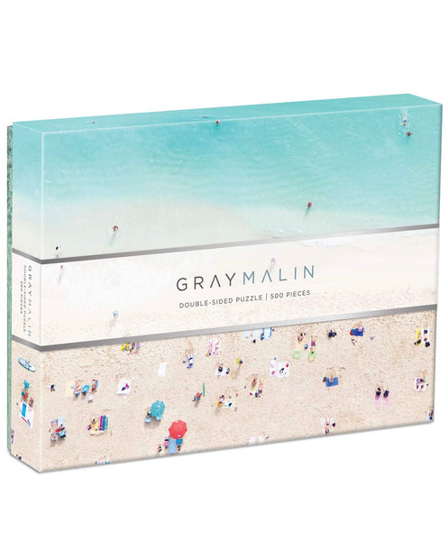 Gray Malin Pacific Beach Puzzle, double sided!!