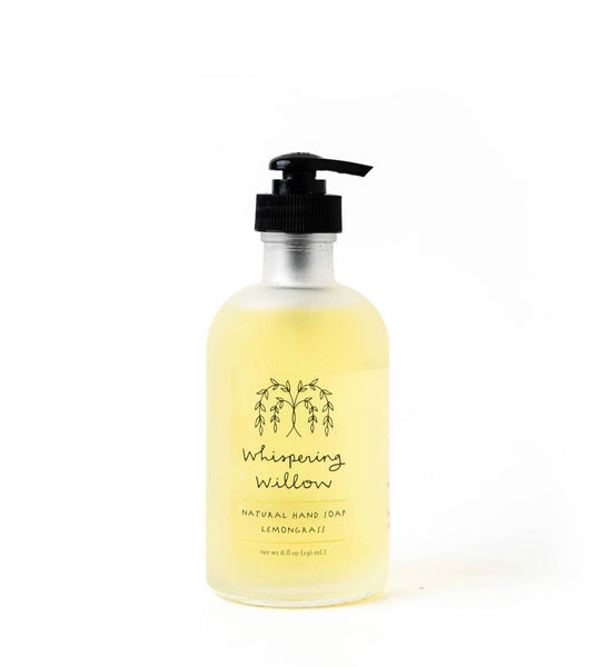 Lemongrass Hand Soap - 8oz Glass Pump