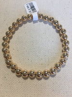 6mm Gold Filled Seamless Bead Bracelet