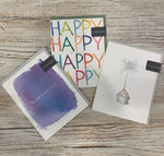 Collection of 3 Happy Birthday Card #1