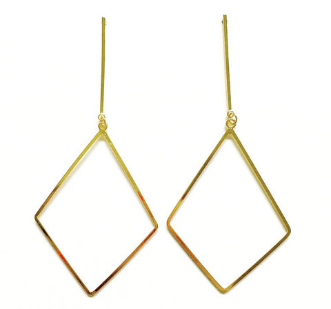 Beth Diamond Dangle Earring