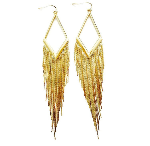 Diva Fringe Dangle Earring