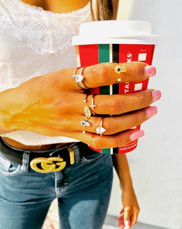 Stackable Bling Rings