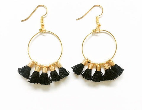 Veronica Mini Tassel Dangles
