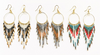 Festival Beaded Fringe Dangles