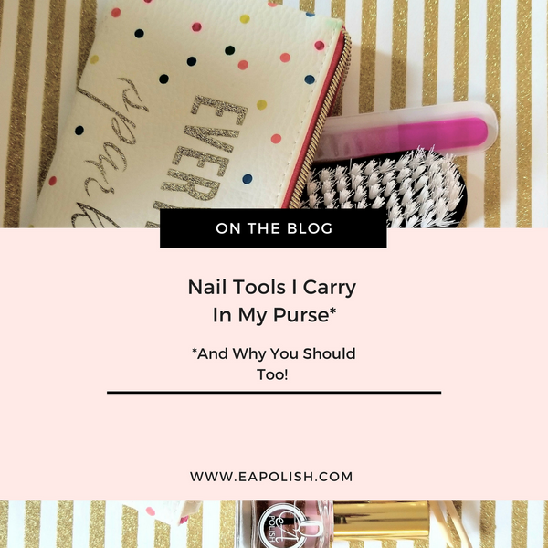 Essential Nail Tools (that You Can Carry In Your Purse)