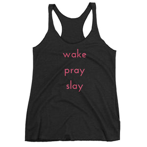 """Wake, Pray, Slay"" Tank Top"