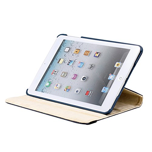 Gearonic ™ iPad Mini 5-in-1 Accessories Bundle Rotating Case Business Travel Combo