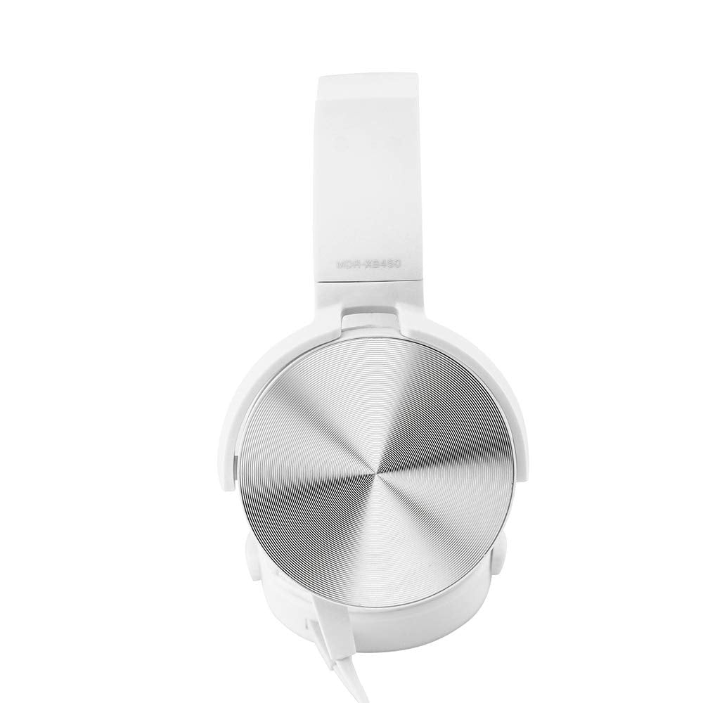 OCT17 Over Ear Headphone Earphone Headset with Mic Wired Noise Cancellation Modern Metallic Design