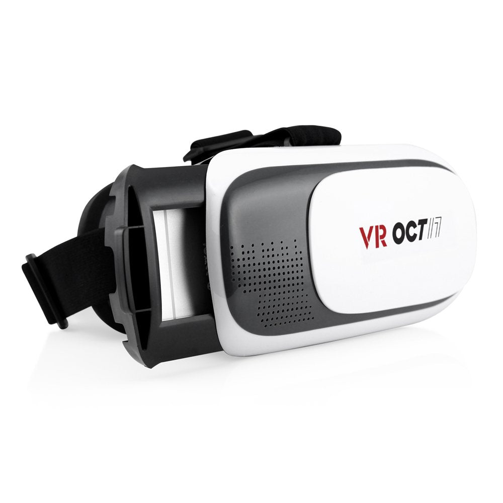 OCT17 3D Glasses Virtual Reality Headset Game Video For iPhone Android IOS Samsung HTC