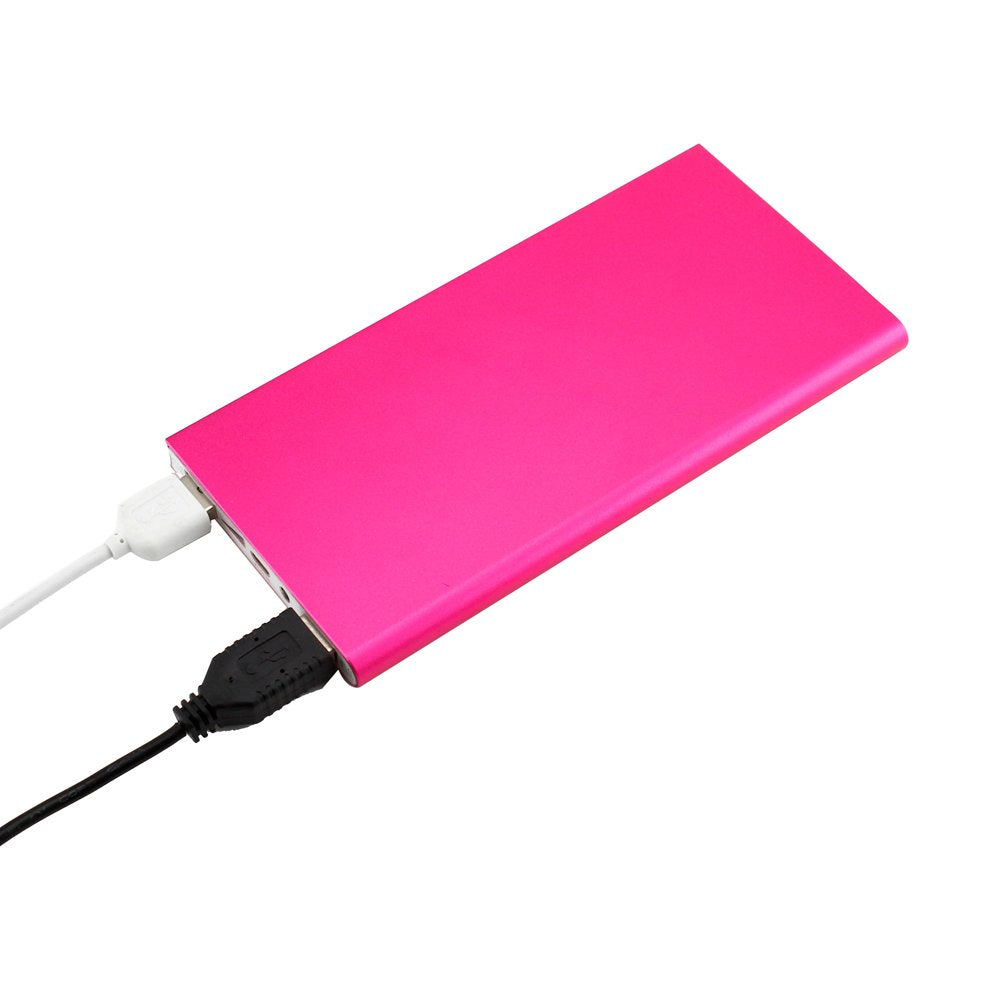 GEARONIC TM 20000mah Double USB Ultra Thin Portable External Battery Charger Power Bank Compatible with Mobile Cell Phone