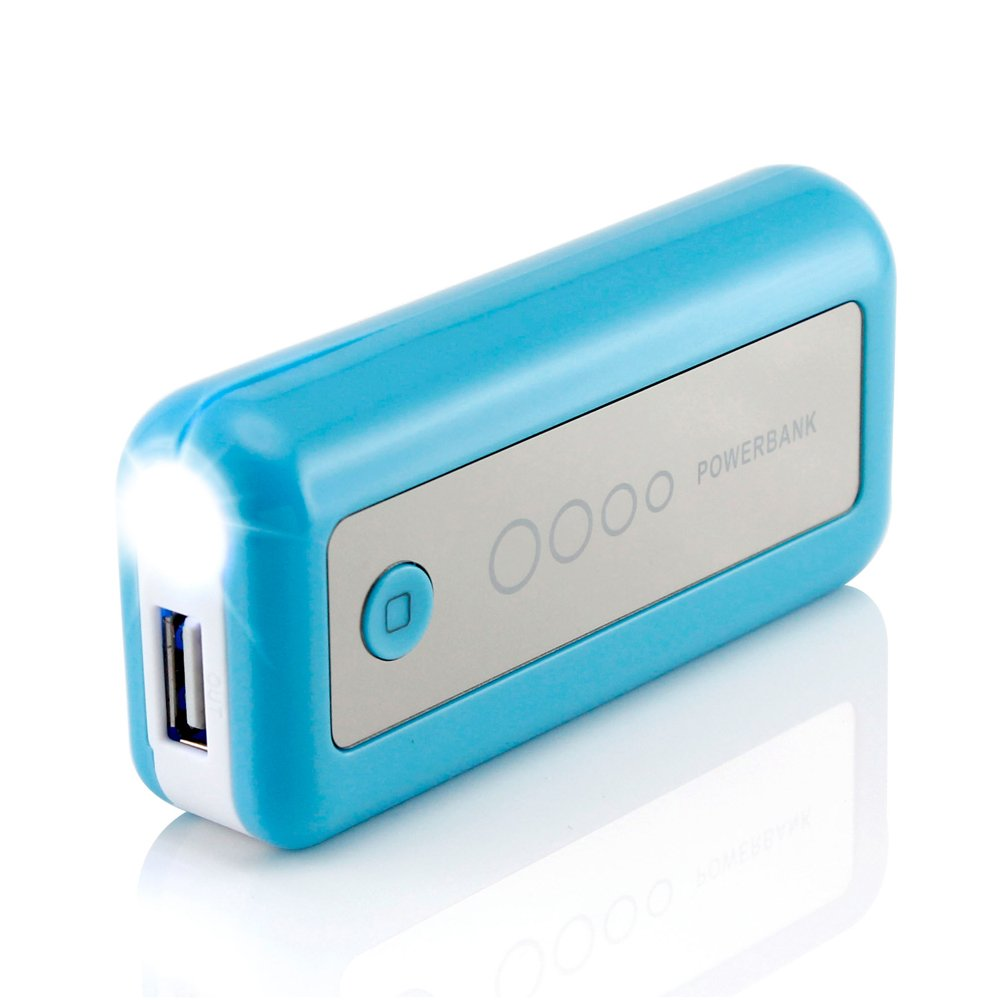 GEARONIC TM 5600mAh Universal Power Bank Backup External Battery Pack Portable USB Charger