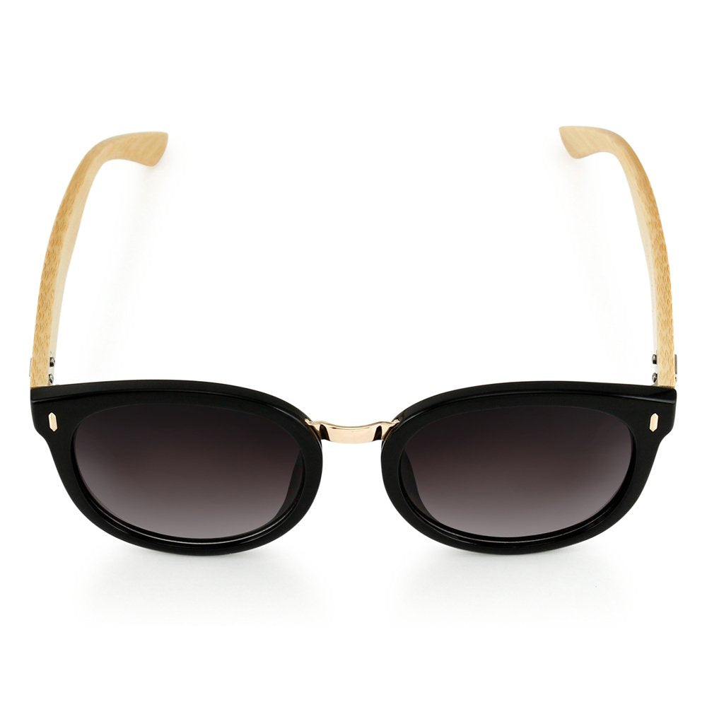 Oct17 Premium Fashion Stylish Classic Retro Vintage Wood Wooden Bamboo Sunglasses