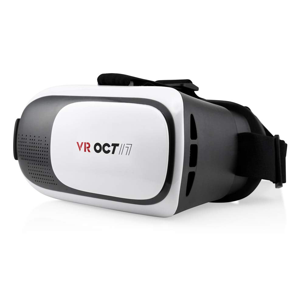 OCT17 VR Glasses 2.0 2nd Gen Virtual Reality 3D Goggle Headset Box Shape with Adjustable Focal Eye Pupil Distance Resin Lens