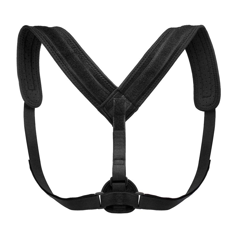 Oct17 Back Posture Corrector - Adjustable and Comfortable Clavicle Chest Support Brace for Men and Women, Improve Bad Posture, Thoracic Kyphosis, Shoulder Alignment, Upper Back Pain Relief