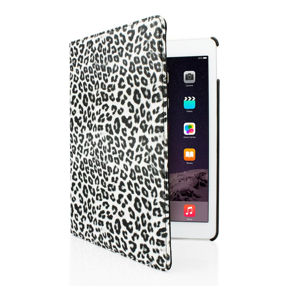 GEARONIC TM for Apple iPad Air 2 360 Degree Rotating Stand Smart Cover PU Leather Swivel Case