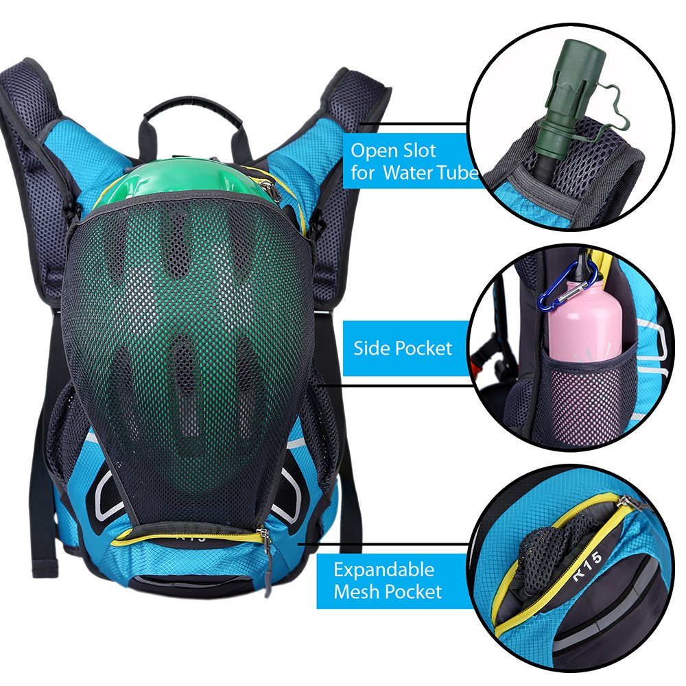 OCT17 Lightweight Backpack Men Women Water Resistant Durable Adjustable Travel Cycling Hiking Camping Outdoor Daypack Waterproof