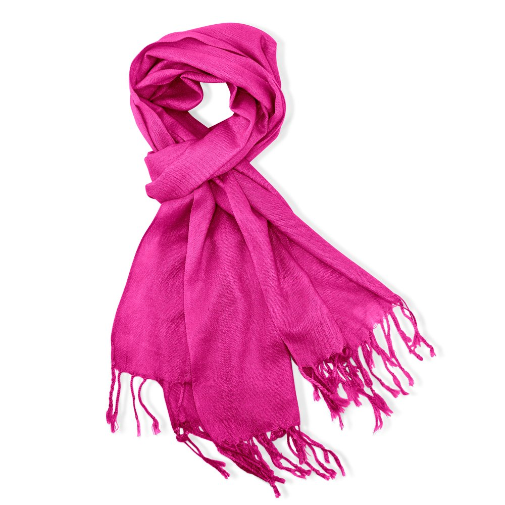 GEARONIC TM Women's Soft Pashmina Scarf Winter Shawl Wrap Scarves Lady Fashion in Solid Colors