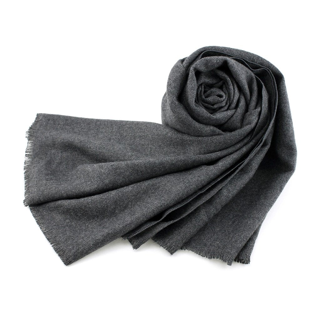 Oct17 Women Large Scarf Soft Cashmere Feel Shawls Wraps Winter Scarfs Light Scarves