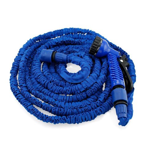 GEARONIC TM Expandable Flexible Stronger Deluxe Garden Water Hose w/ Spray Nozzle
