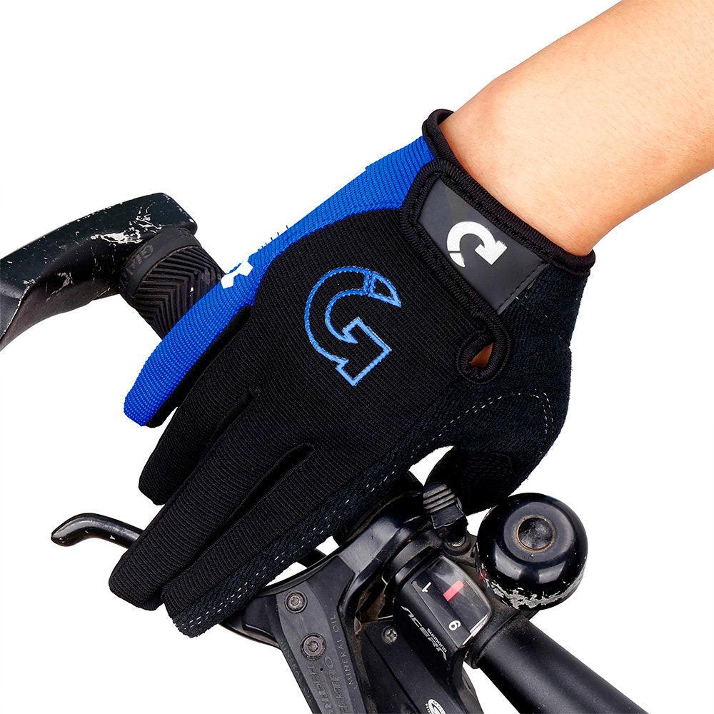 GEARONIC TM Cycling Bike Bicycle Motorcycle Shockproof Foam Padded Outdoor Sports Half Finger Short Riding Biking Glove Working Gloves