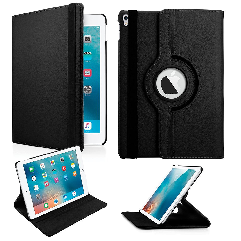 Oct17 for Apple iPad Pro 10.5 Case - 360 Degree Rotating Stand with Auto Sleep Wake Function, Protective Cover for Apple iPad Pro 10.5 Inch 2017 Release Tablet