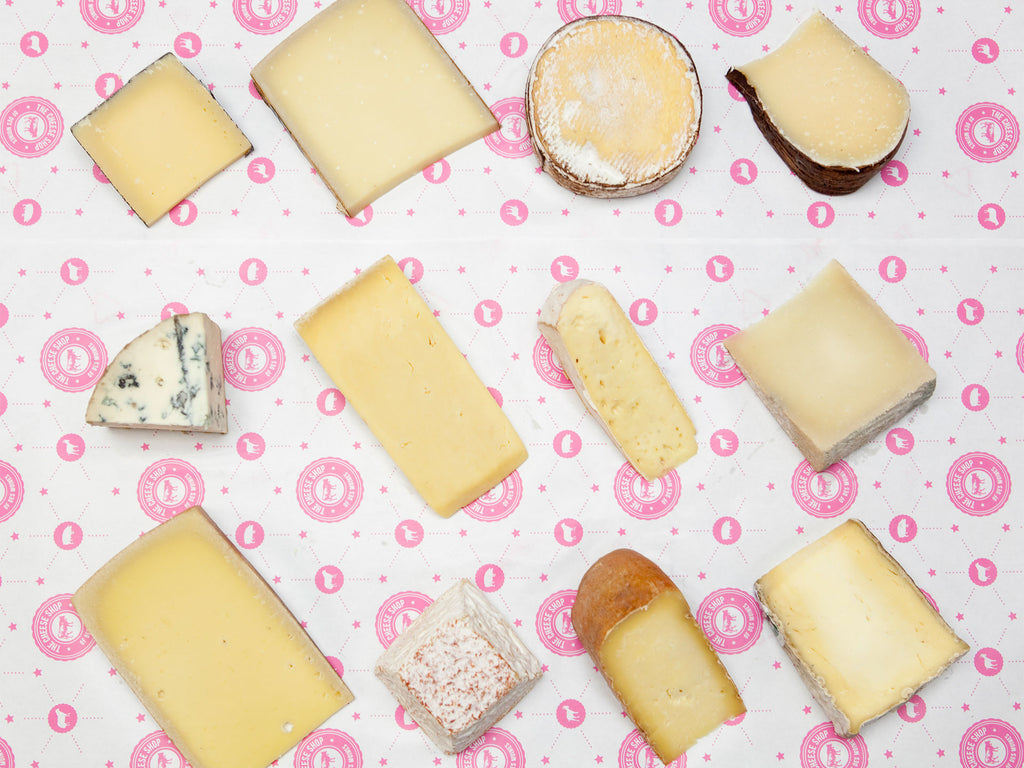 12 month Cheese Shop cheese club subscription