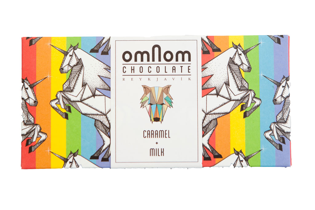 Omnom Chocolate - Caramel + Milk
