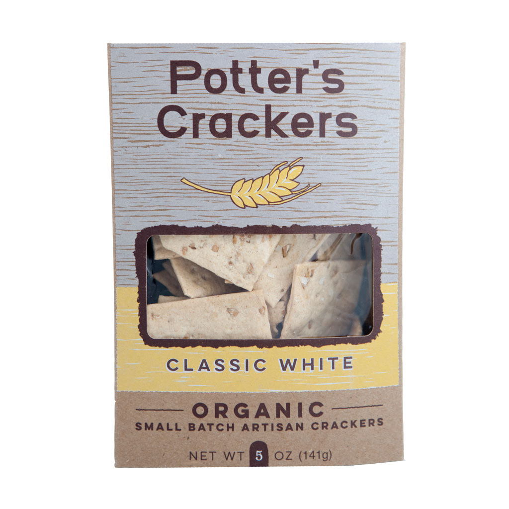 Potter's Crackers - Classic White