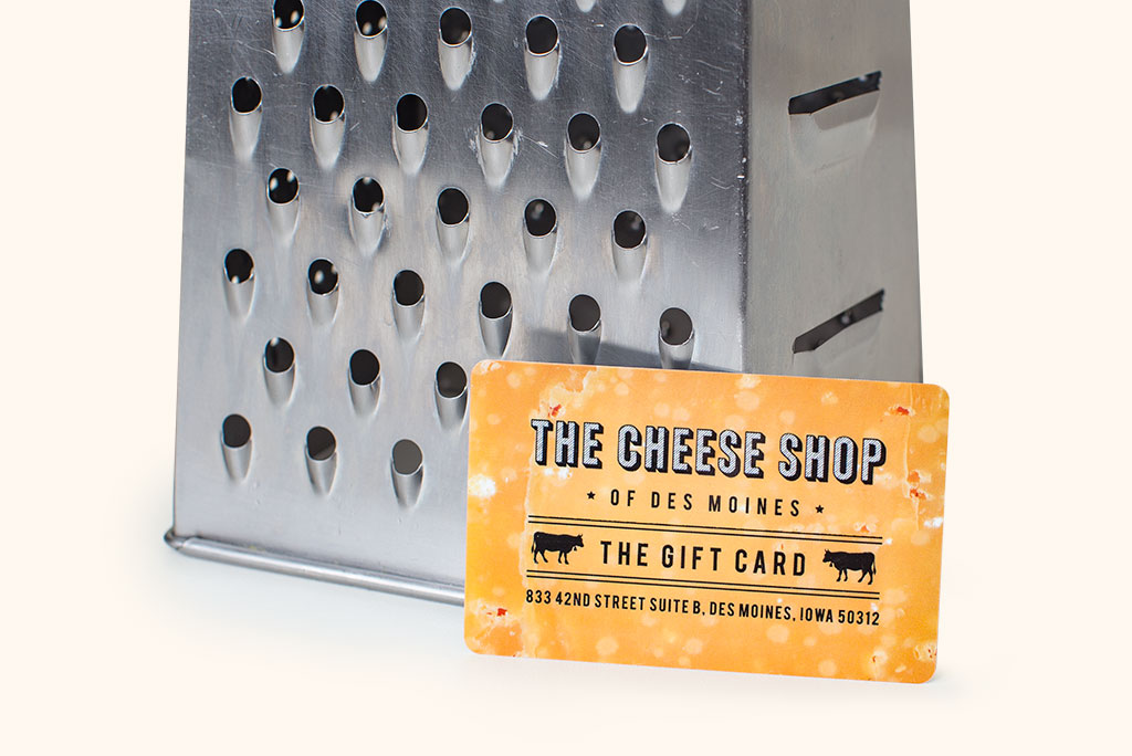 The Cheese Shop gift card