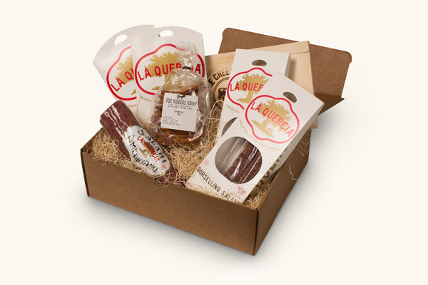 La Quercia Cheese Shop gift box