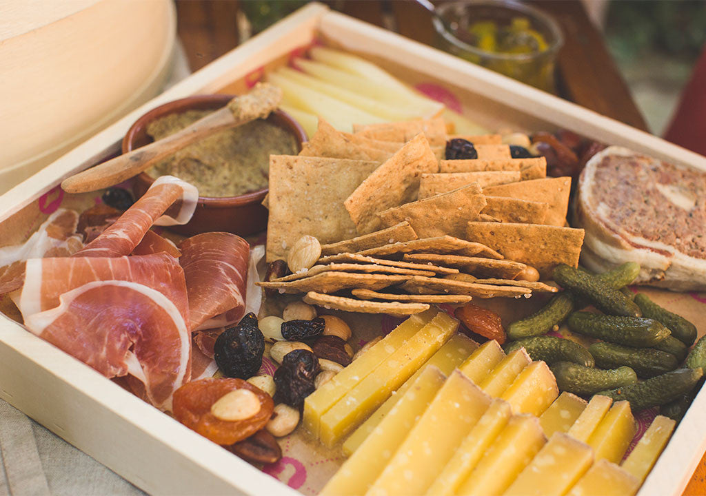 the des moines cheese shop charcuterie & cheese tray