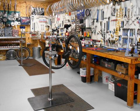 The really cool Bike Repair Shop