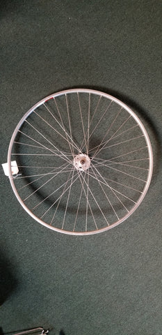 Used: 700c front tubular wheel