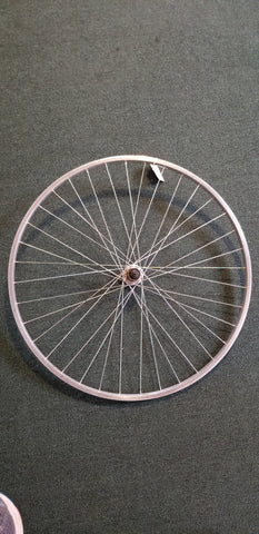 Used: 700c alloy rear wheel. Cassette
