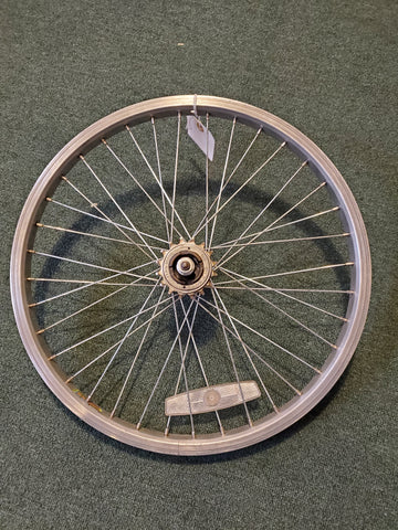 "Used: 20"" rear single speed wheel. Bolt on"