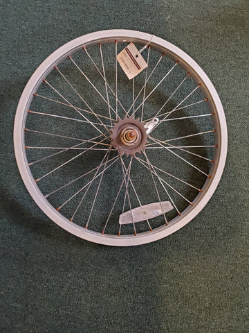 "Used: 20"" coaster brake alloy rear wheel"