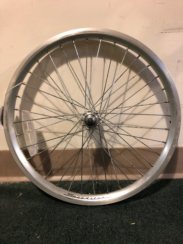 "20"" used Speedster front alloy bolt in wheel"
