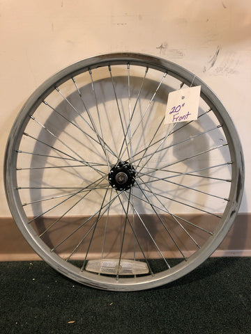 "20"" used front steel wheel bolt in"