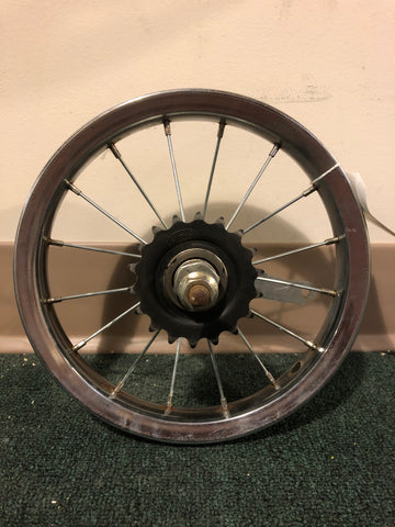 "12"" used rear wheel"