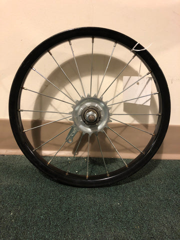 "16"" used steel rear wheel"